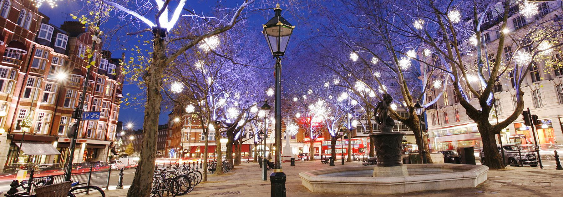 Christmas In London Vacation Package