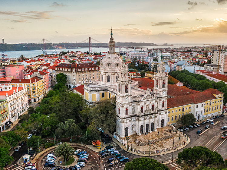 Lisbon & Rome Package