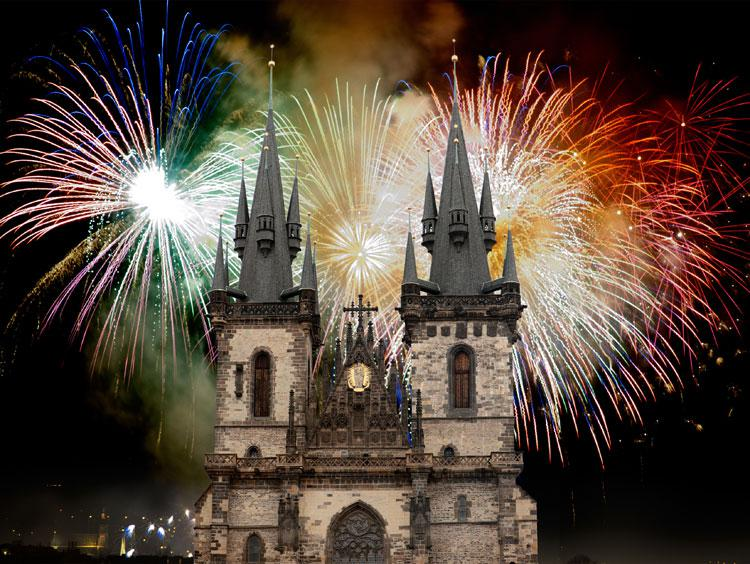 New Year's in Prague