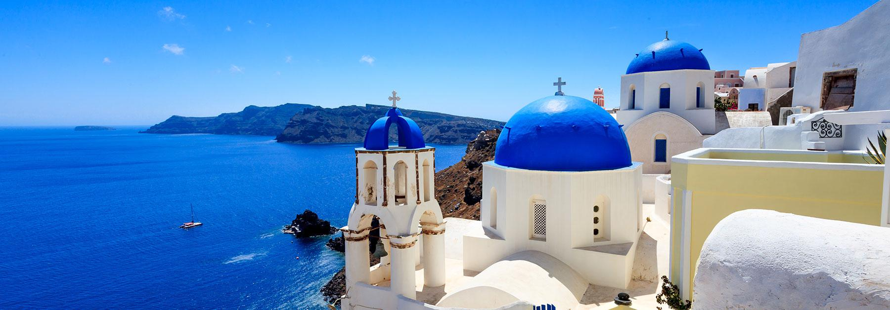 Greece Vacations with Airfare | Trip to Greece from go-today
