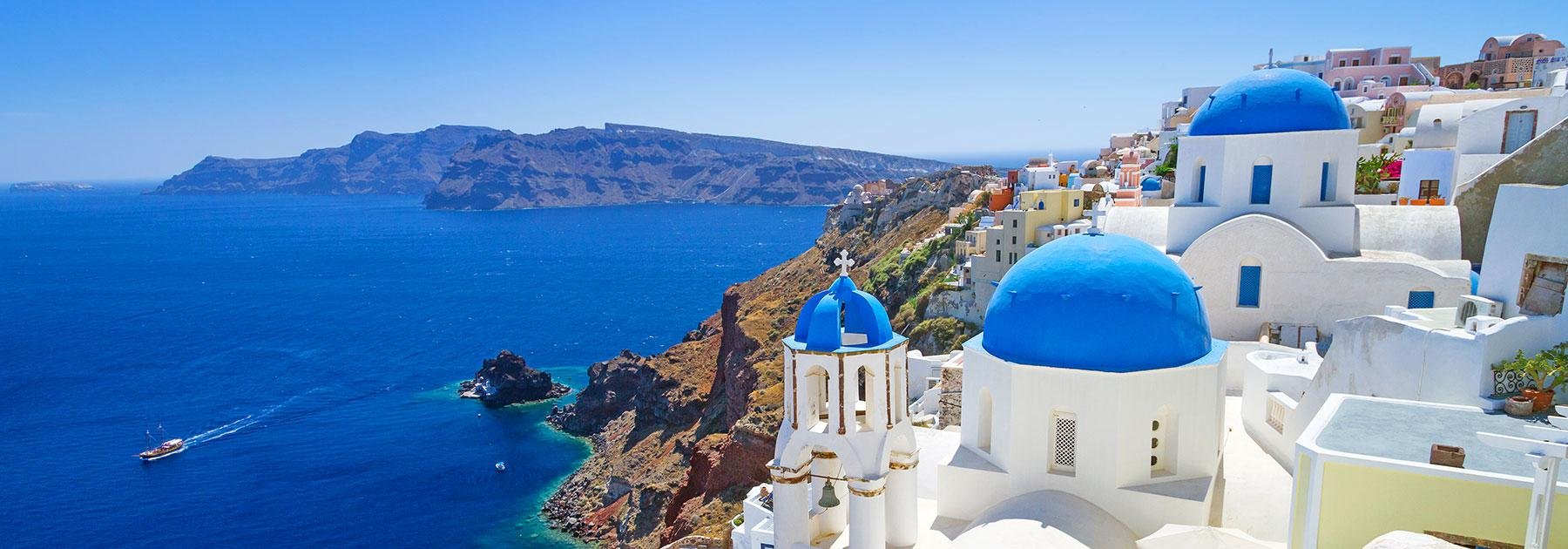 Greece Vacation Packages Greece Trips With Airfare From Gotoday - Greece tour packages