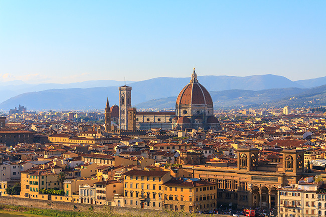 Paris, Rome, Florence, and Venice Package
