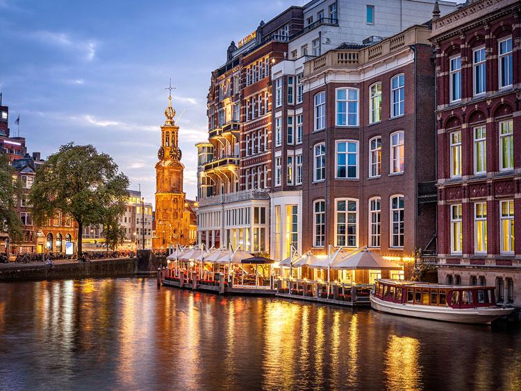 Paris & Amsterdam