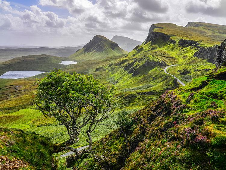Edinburgh and Highland Explorer Isle of Skye Escorted Tour